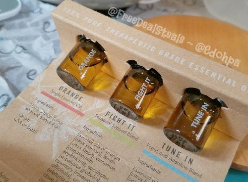 Ellia Essential Oil Diffuser Samples