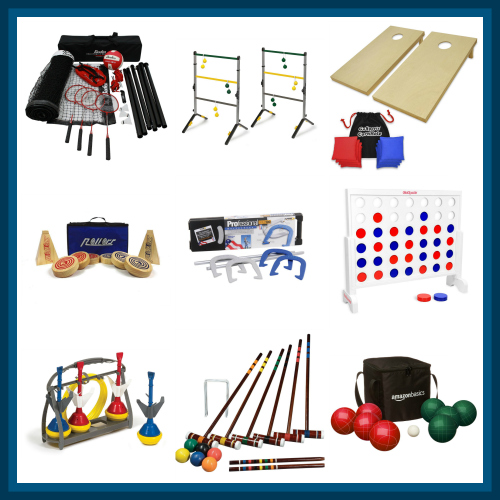 Outdoor Yard Games & Activities