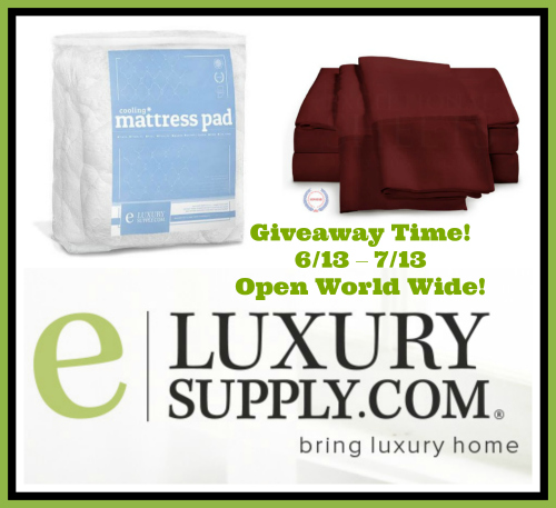 Cooling Mattress Pad & Egyptian Cotton Sheets Giveaway!