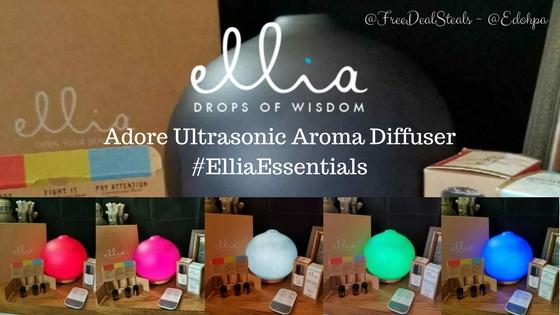 Adore Ultrasonic Aroma Diffuser