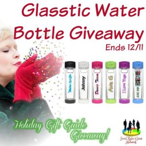 Glasstic Water Bottle Giveaway