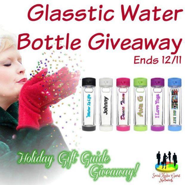 Glasstic Water Bottle Giveaway
