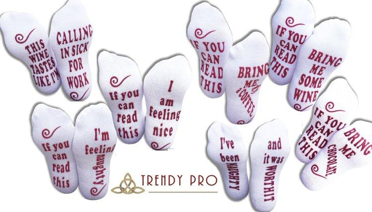 TRENDY PRO Talking Socks