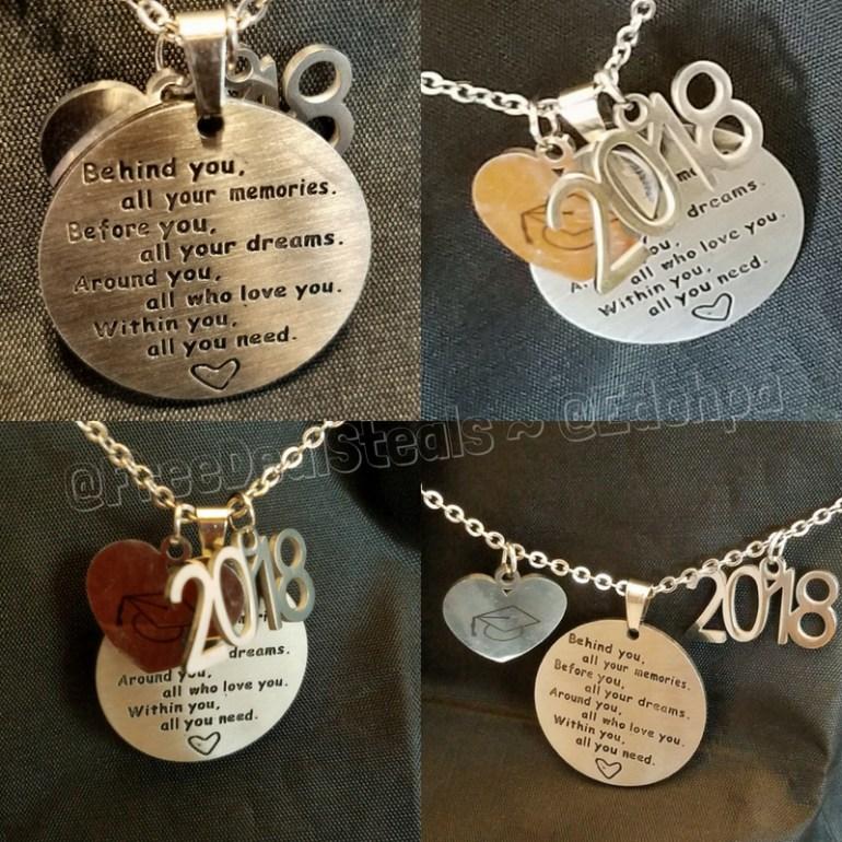 2018 Graduation Necklace