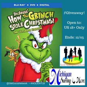How the Grinch Stole Christmas Blu-Ray