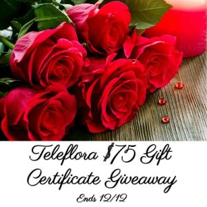 Teleflora Gift Certificate Giveaway