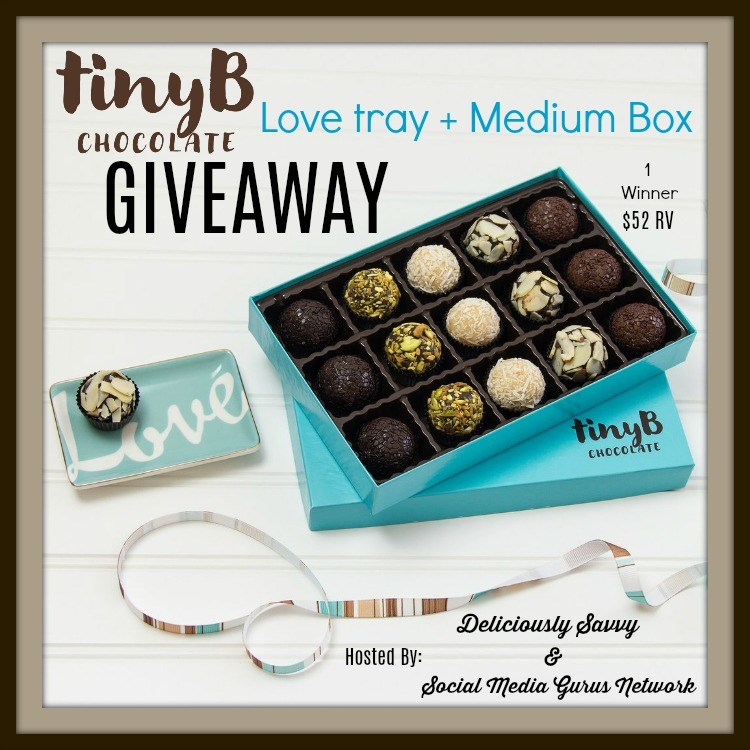 tiny B Chocolate Love Tray