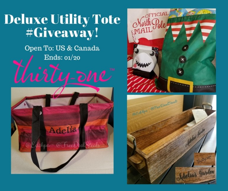 Deluxe Utility Tote Giveaway!