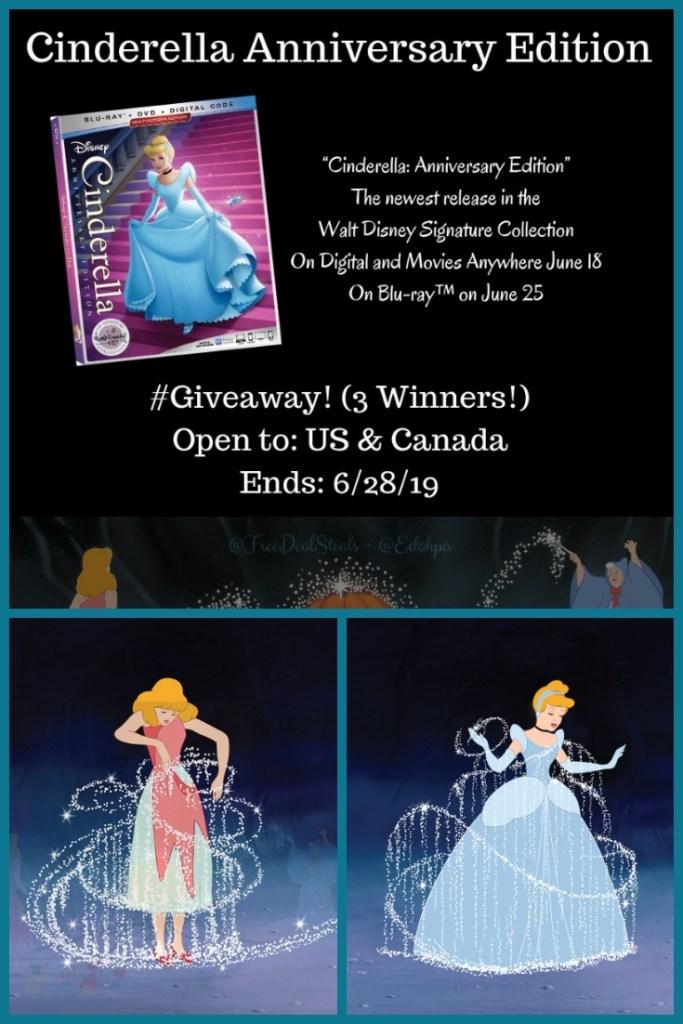 Cinderella DVD Giveaway