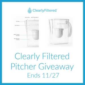 Clearly Filtered Pitcher