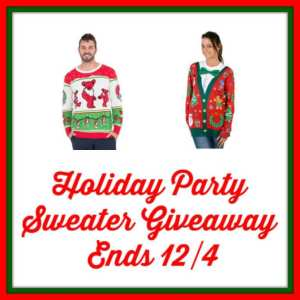 Holiday Party Sweater