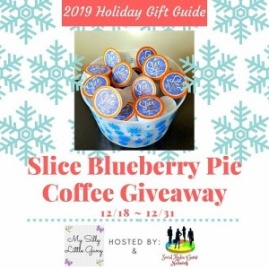 Slice Blueberry Pie Coffee