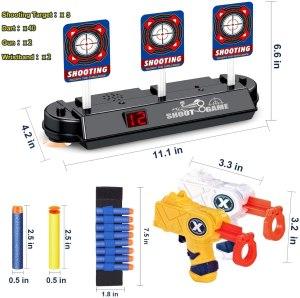 digital shooting target toy