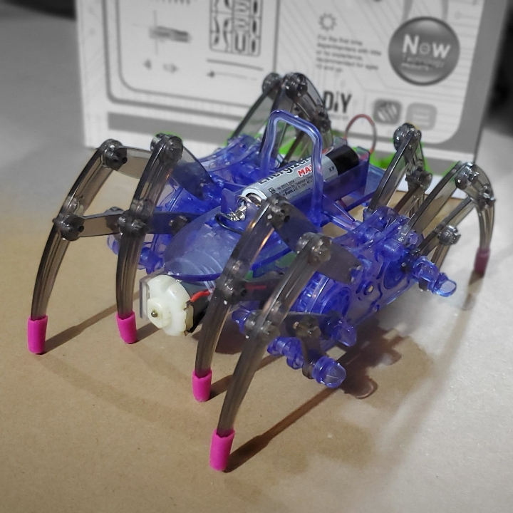 Robotic Spider Building Kit