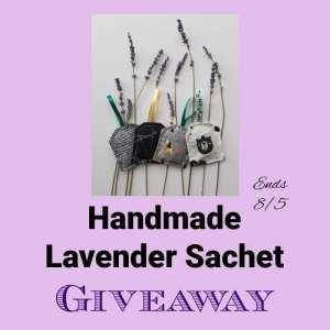 Handmade Lavender Sachet