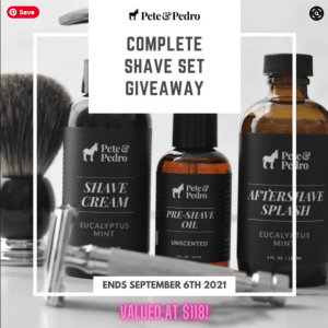 Pete And Pedro Complete Shave Set Giveaway