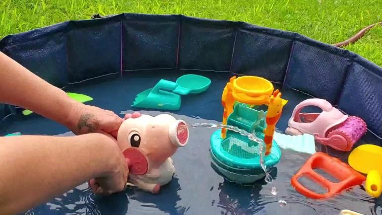 Pupzo 15pc Beach Sand Water Toys