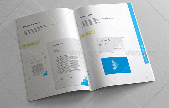 27 Great Brand Book Guideline Indesign Templates Design Freebies
