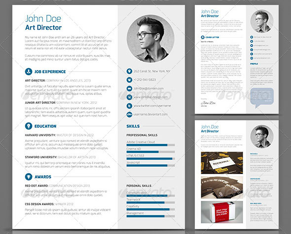 creative resume templates template