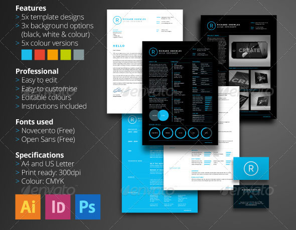 resume is the multi page flexible resume designed to be modern