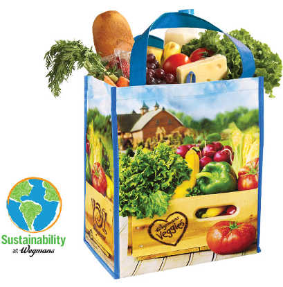 Come to Wegmans Earth Day Event and Get a Free Reusable Bag