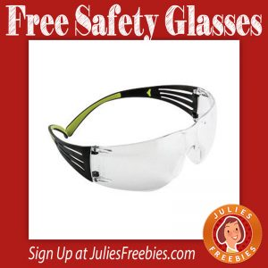 Free 3M Anti-Fog Safety Glasses