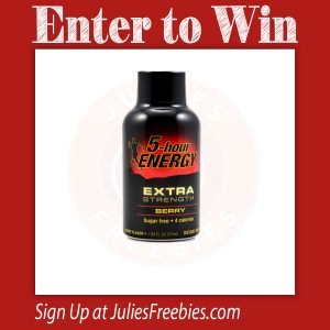 5 Hour Energy Giveaway