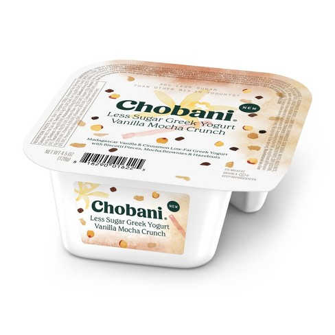 Free Giant Food Stores Chobani Less Sugar Crunch (4.05 oz) Coupon