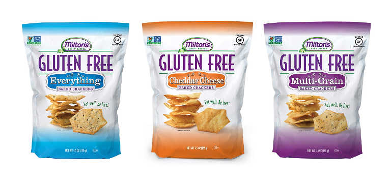 Free Milton's Craft Bakers Gluten Free Cracker Samples (For First 500 Customers in the US Only)