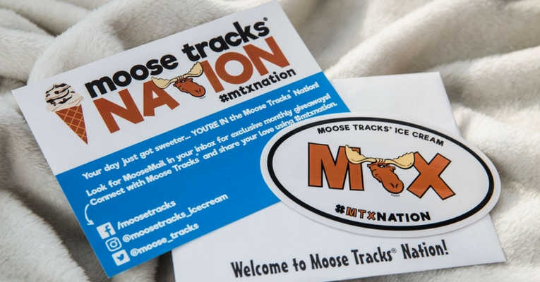MTX Nation Sticker is Free with Sign Up of Moose Tracks Nation Membership