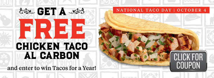 National Taco Day Freebies and Deals at 11 Restaurants