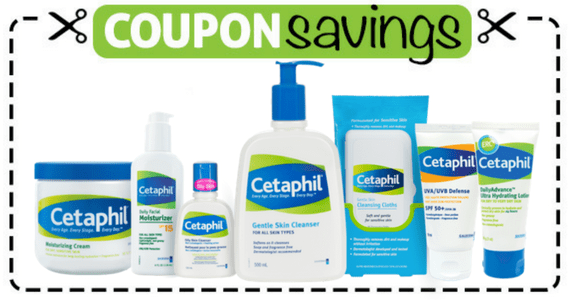 Save  off one Cetaphil Product