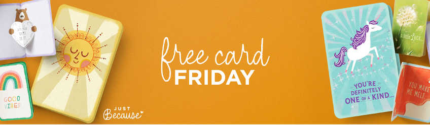 Get a Free Hallmark Just Because Card Every Friday (Valid Until March 22)