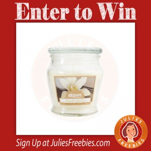 Win an Airpure French Vanilla Candle