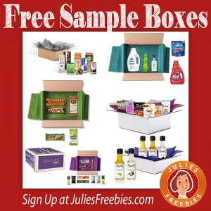 Free Amazon Sample Boxes