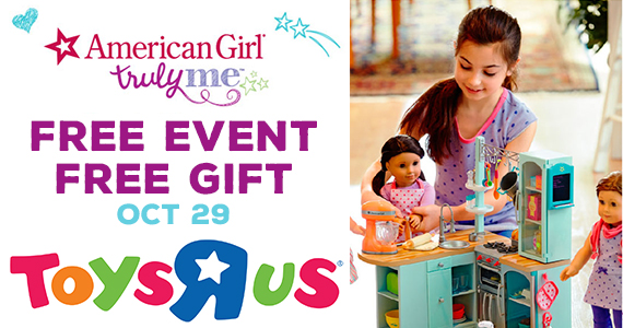 Free American Girl Truly Me Event at Toys-R-Us