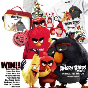 Win an Angry Birds Prize Pack