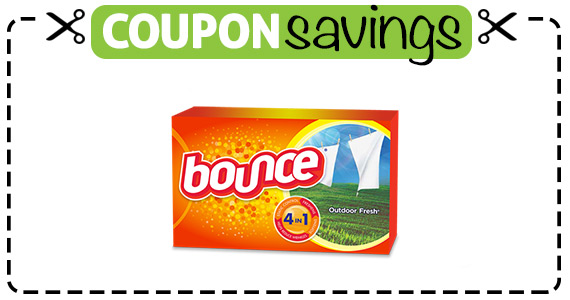 Save 55¢ off Bounce