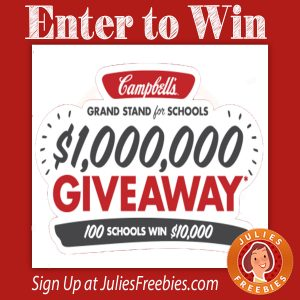 Campbell's Grand Stand for School's Giveaway and Instant Win Game