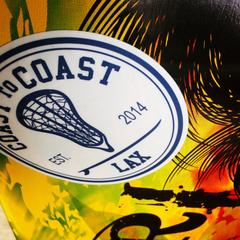 Sign Up for Coast to Coast Lax Style's Newsletter and Receive a Free Sticker
