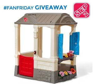 Win a Step2 Courtyard Cottage