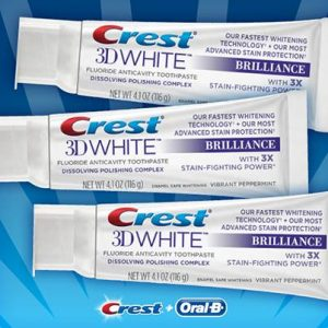 Free Crest 3D White Giveaway