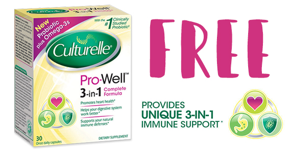 Possible Free Culturelle Pro-Well 3-in-1 Formula
