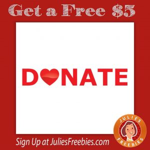 Give Blood, and Get $5.00 Back