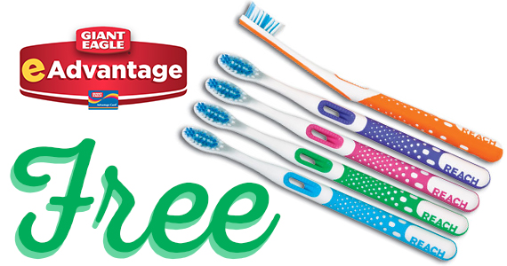 Free Reach Toothbrush From Giant Eagle
