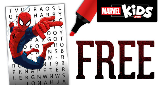 free-spider-man-word-search