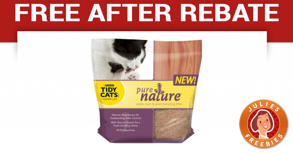Free Tidy Cats Pure Nature after MIR