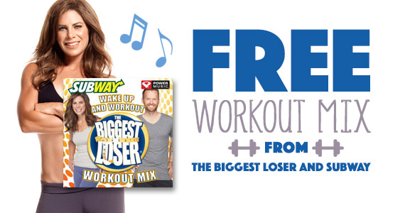 Free Workout Mix From The Biggest Loser And Subway