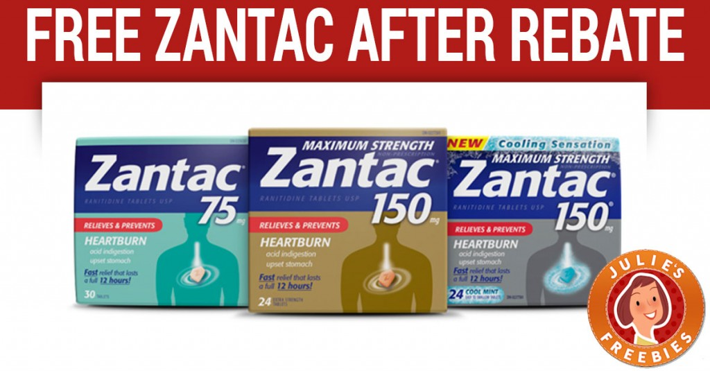 Free Zantac After Rebate