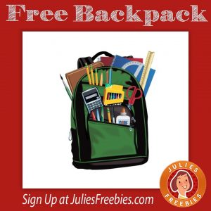 Free Backpack and School Supplies at Verizon on 7/30